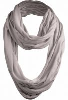 Esarfa Wrinkle Loop gri deschis Urban Classics
