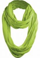 Esarfa Wrinkle Loop verde lime Urban Classics