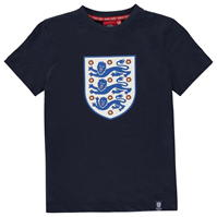 Tricouri FA England Large Crest Junior