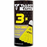 Fluturasi badminton Talbot Torro Tech 350 3 bucati Free galben 479115