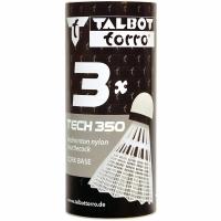 Fluturasi badminton Talbot Torro Tech 350 3 bucati Medium alb 479112