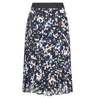 DKNY Print Pleated Skirt