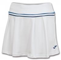Fuste tenis Joma Terra alb-royal pentru Femei