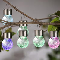 Garden Essentials Essentials 6 Pack Crackle Lights