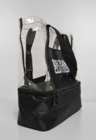 Cooling Beachbag negru-transparent Urban Classics