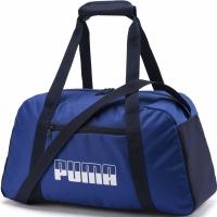 Geanta sala sport Puma Plus II albastru bleumarin 076063 09