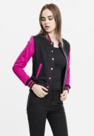 2-tone College Sweatjacket pentru Femei Urban Classics