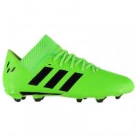 Ghete fotbal adidas Nemeziz Messi 18.3 FG Junior