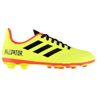 Ghete fotbal adidas Predator 18.4 FG Junior