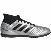 Ghete de fotbal Adidas Predator 193 gazon sintetic Silver G25802 copii