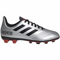 Ghete de fotbal Adidas Predator 194 FxG Silver G25822 copii