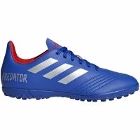 Ghete de fotbal Adidas Predator 194 gazon sintetic albastru CM8556 copii