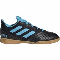 Ghete de fotbal Adidas Predator 194 IN Sala negru albastru G25830 pentru copii