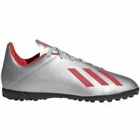 Ghete de fotbal Adidas X 194 gazon sintetic Silver F35348 copii