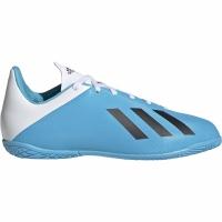 Ghete de fotbal Adidas X 194 IN albastru And alb F35352 pentru copii