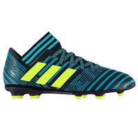 Ghete fotbal adidas Nemeziz 17.3 FG Junior