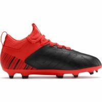 Ghete de fotbal Puma One 53 FG AG rosu negru 105657 01 pentru copii