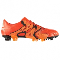 Ghete fotbal adidas X 15.1 din piele FG pentru Barbati