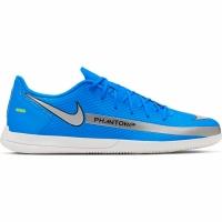 Ghete fotbal sala Nike fotbal Phantom GT Club IC albastru CK8466 400