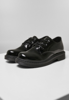 Ghete Low Laced negru Urban Classics