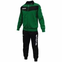 Trening sport Givova Visa verde and negru barbati/baietei