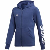 Hanorace cu Fermoar Adidas Linear CF7238 copii