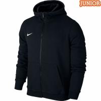Hanorac cu gluga Nike Team Club negru 658499 010 copii