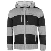 Hanorace SoulCal Stripe Lined Knit Zip