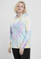 Hanorac Tie Dye pentru Femei pastel Urban Classics