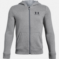 Hanorace cu fermoar Under Armour Logo de baieti Junior