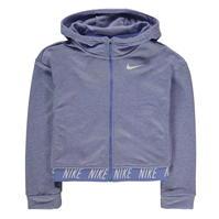 Hanorace cu fermoar Nike Studio de fete Junior