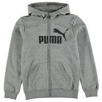 Hanorace cu fermoar Puma No1 de baieti Junior