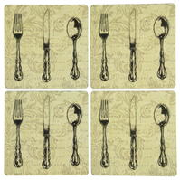 Inspire Vintage Cutlery Place Mats