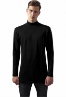 Long Open Edge Turtleneck Crew negru Urban Classics