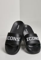 Icons Slides negru-alb