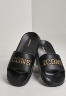 Icons Slides negru-auriu