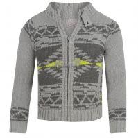 Jacheta Firetrap Nav Lin Zipped Knitted pentru Juniori