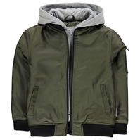 Jachete Lee Cooper Hooded Bomber Junior