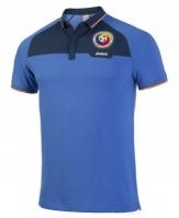 Joma Tricou Polo cu maneca scurta Free Time echipa nationala a Romaniei albastru