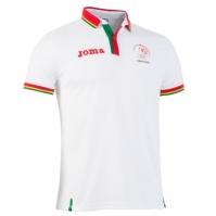 Joma Tricou Polo Podium Co Portugal alb cu maneca scurta R