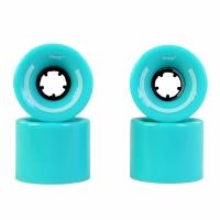 Roti pentru skateboard plastic 60x45mm 4 albastru Mico