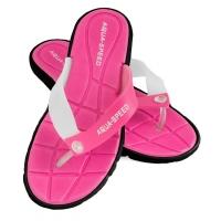 Slapi piscina AQUA-SPEED BALI roz / alb negru 37/479 femei