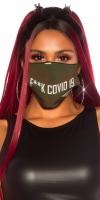 Masca la moda refolosibila F*CK COVID-19