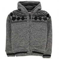 Jachete Lee Cooper Fairisle Lined Knitted de baieti Junior