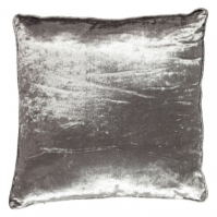 Linens and Lace Crushed Velvet Cushion