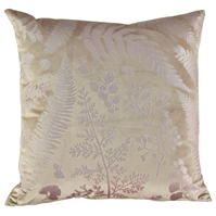 Linens and Lace Foil Velvet Cushion