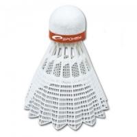 Set de 6 Fluturasi Badminton SPOKEY SHOOT rosu FAST / / 83435