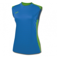 Tricou Joma Volley Royal-verde fara maneci