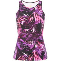 Biba Magenta Dark Jungle Sports vest