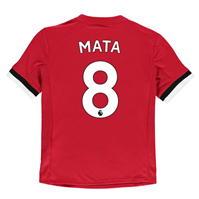 Tricou adidas Manchester United Home Mata 2017 2018 Junior